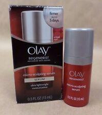 Olay Regenerist Micro Sculpting Serum Advanced Anti Aging 0.5 fl oz Exp 09/17 +