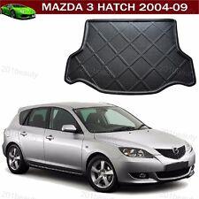 For Mazda 3 Hatchback 2004-2009 Car Carpet Cargo Mat Trunk Liner Tray Floor Mat