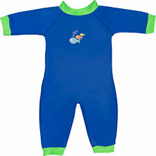 Swimbest Warmsuit Baby Wetsuit Blue 3-6 Months Approx