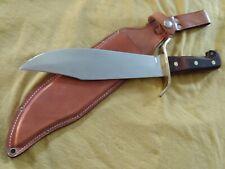 70`s Western Boulder Made Vietnam Era W49 Bowie Knife Guard Marked Beauty