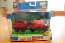 Thomas & Friends Wooden Railway LC 99103 Lights & Sounds James Real Wood NIP New