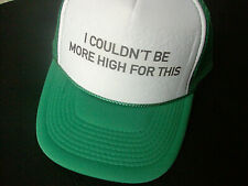 HIGH Hat Cap Trucker Snapback
