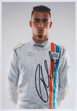 PASCAL WEHRLEIN 3 Manor Mercedes Foto 13x18 signiert IN PERSON Autogramm signed