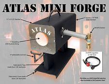 Atlas Mini Forge - propane knifemaking forge w/ 30K BTU burner and regulator