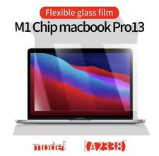 """Tempered Glass Screen Protector for MacBook Air Pro 13""""A2337 A2141 A2338 M1 Chip"""
