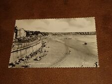 Frith Real photo Postcard- Promenade & Sands - Filey Yorkshire