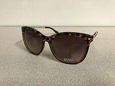 New GUESS Women's Designer Sunglasses Butterfly Eyewear Tortosie/Gold Frame New