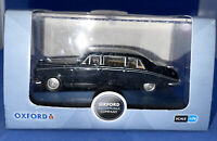 Oxford Diecast Daimler DS420 Limousine Black/Grey Model 1:76 00 Scale (Locled2)