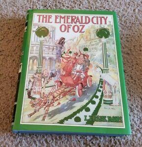 1993 THE EMERALD CITY OF OZ L Frank Baum Illustrated John R Neill HC/DJ Dorothy