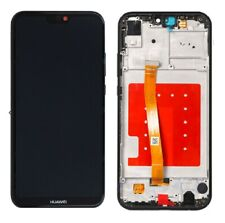 Huawei P20 Lite ANE-LX1 Touch Screen Digitizer LCD Display Assembly Frame Black