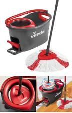 Vileda Easy Wring and Clean Turbo Microfibre MOP Bucket Set Floor Cleaning Tools