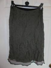 Karen Millen Knee Length Silk Patternless Skirts for Women