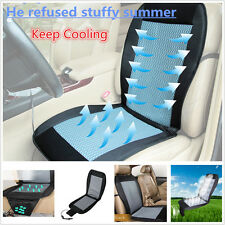 12V Car Seat Cooler Cushion Cover Summer Cooling Wind Seat w/ Air Ventilated Fan