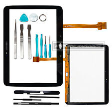 Touch Screen Digitizer Glass For Samsung Galaxy Tab 3 10.1 P5200 5210 5220 Black