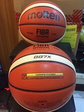 2x Pcs Gg7X Authentic Molten Gg7 X Basketball Fiba Composite Leather 2015-2019