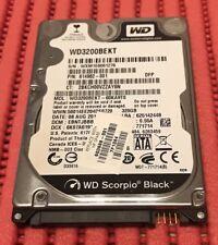 WESTERN DIGITAL HARD DISK 320GB 2,5'' NOTEBOOK PS3 MACBOOK WD3200BEKT 7200 GIRI
