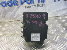 2014 PEUGEOT 308 1.6HDI ABS PUMP & MODULE 9810286680 #25060