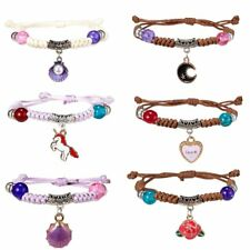 Lovely Kids Children Adjustable Handmade Braided Beads Bracelets Fashion Jewelry