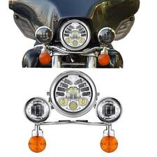 """5.75"""" LED Headlight Passing Light Bar For VT Shadow Ace Sabre 700 750 1100 1800"""