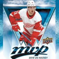 2019-20 Upper Deck MVP Blue Hockey Factory Set Pick From List 201-250 + Inserts