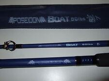 Two (2) New Poseidon 7ft 50lb Class Boat Fishing Rod