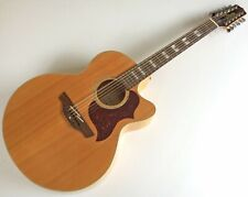 More details for takamine eg523sc-12 12 string electro acoustic guitar and hiscox lightflite case