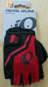 Pearl Izumi Select Bike Cycling Gloves Rogue Red / Black Gel Foam Padding L New