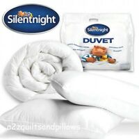 Silentnight 10.5 duvets(NQP) + Luxury Bounce Back Pillow Pair