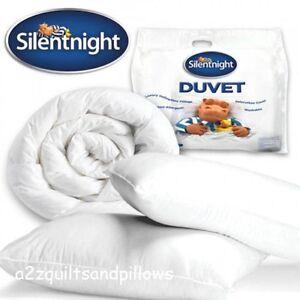 Silentnight 10.5 duvets(NQP) + Luxury Bounce Back Pillow Pair