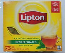 50 Beutel LIPTON Tea TEE entkoffeiniert