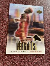 Lebron James 2003 Upper Deck Redemption Special City Heights RC - Cleveland Cavs