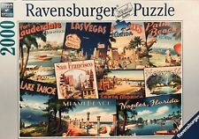 """""""Vintage Vacations"""" Jigsaw Puzzle - Ravensburger - 2000 pieces - 29.5"""" x 38.5"""""""