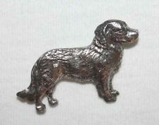 Nova Scotia Duck Toller Dog Harris Fine PEWTER PIN Jewelry Art USA Made