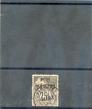 TAHITI Sc 25(YT 27)*VF LH, 1893 25c BLACK/ROSE, SOME NIBBED PERFS,  $125