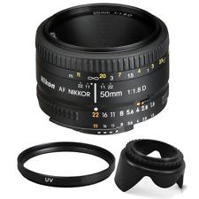 Nikon 50mm f/1.8D AF NIKKOR Lens with Accessory Kit