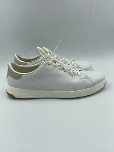 Cole Haan Mens Grandpro Tennis White Sneakers Size 9 W , 022