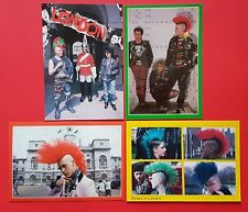 NEW Set of 4 Punk Rocker Postcards, Punks of London, Matthew Belgrano