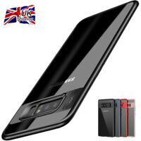 New Shockproof Thin Clear TPU+PC Case Cover for Samsung Galaxy Note 8/S8 Plus