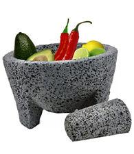 Molcajete Moderno mortar & Pestle For Salsas & Spices From Mexico Handmade New