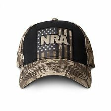 NRA Hat Digital Camo Tan National Rifle Association Adjustable Strapback Cap
