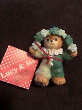 New ListingEnesco Lucy and Me Lucy Rigg Bear Irish Shamrocks
