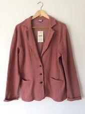 Ladies Tweed Style Soft Cardigan Blazer Size 16 Autumn Winter Smart Casual