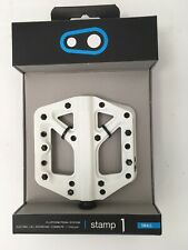 CrankBrothers Stamp 1 MountainBike Pedals - Small - White/Black- SPECIAL EDITION