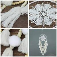 Handmade Macrame Wall Hanging Dream Catcher Large Knitted Home Bedroom Hanging