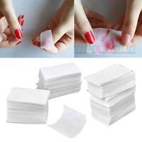 900pcs Gel UV Nail Art Polish Remover Cleaner Lingettes coton Pads Lint Free AQ