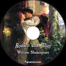 Romeo and Juliet - Unabridged MP3 CD Audiobook in paper sleeve