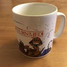 KILN CRAFT Star Wars Return of the Jedi Mug, Vintage UK Jabba Palace Lando Luke