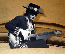 "Stevie Ray Vaughan Guitarist Rock Star Tabletop Display Standee 8"" Tall"