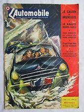 REVUE L'AUTOMOBILE - N° 82 - 1953 SALON BRUXELLES RALLYE MONTE-CARLO