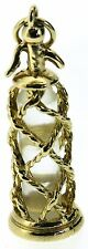 Gold charms Vintage 9Carat 9ct yellow soda water syphon pendant great condition